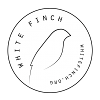 White Finch Logo